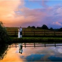 Farm wedding, Justine and Chris